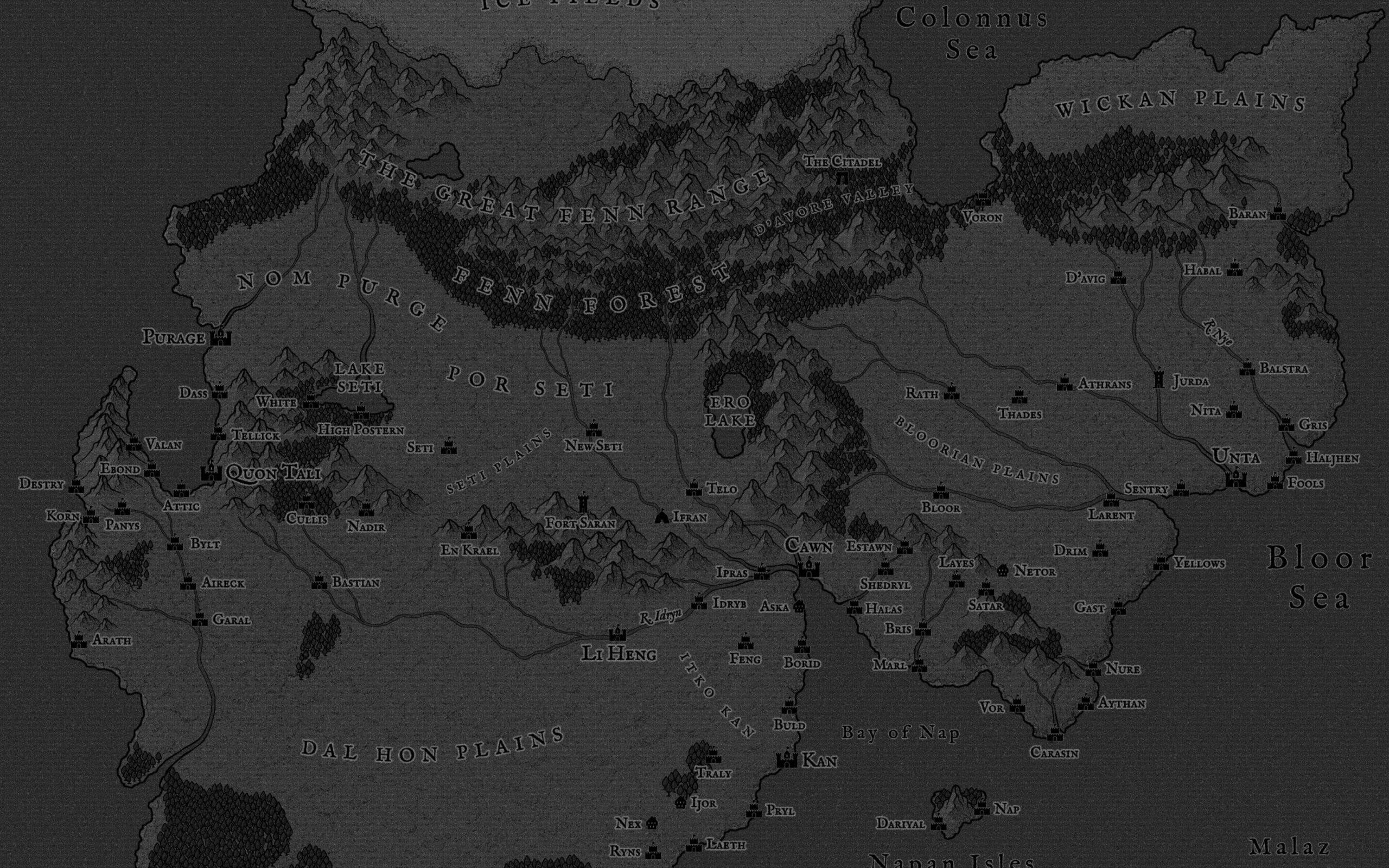 (Complete) Quon Tali in Grayscale