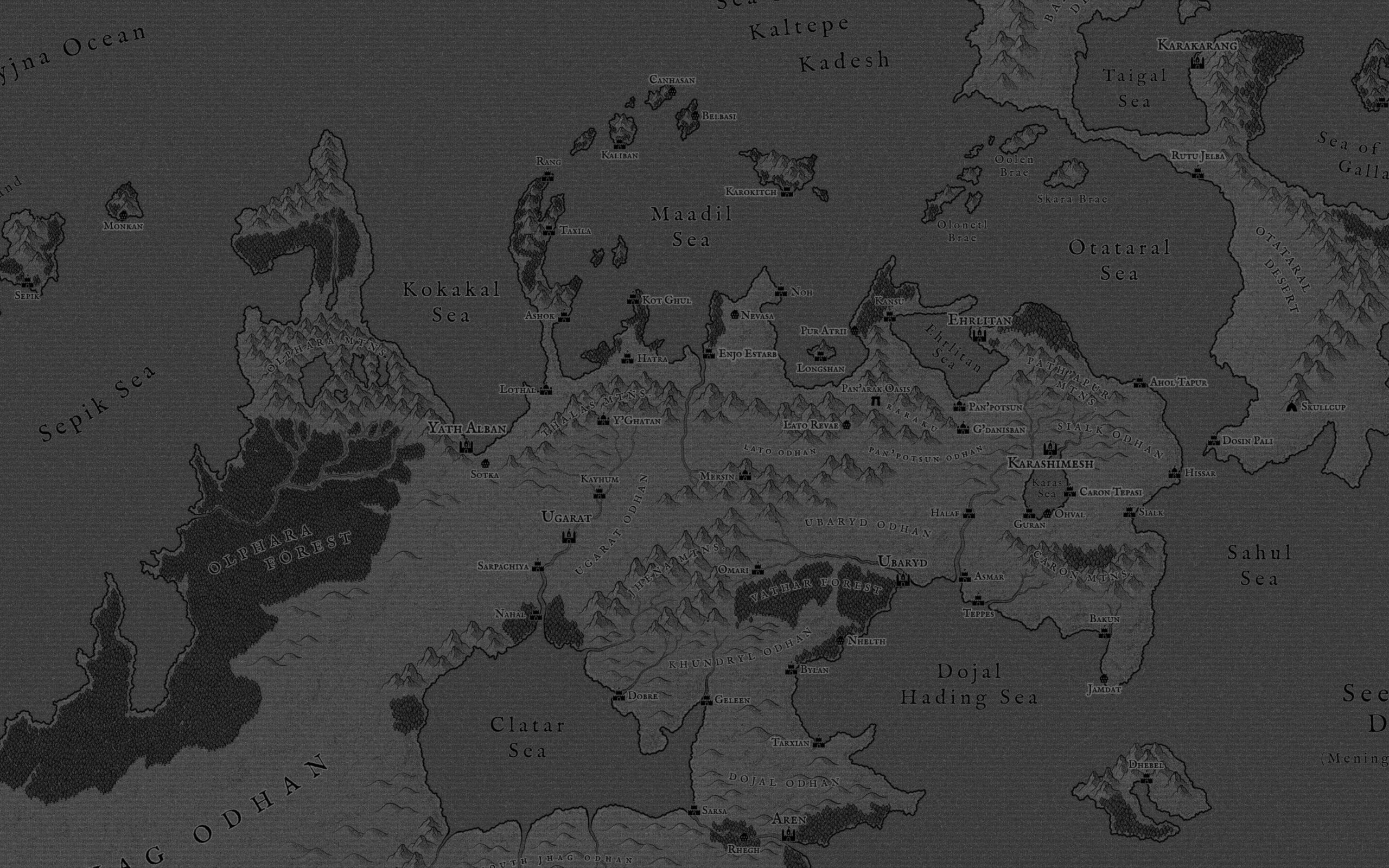 (Complete) Seven Cities in Grayscale